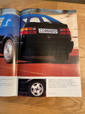 The VW Corrado - VR6 Sept 1992 sales Brochure