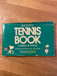 Snoopy's Tennis Book Charles M. Schulz Introduction by Billie Jean King 1979