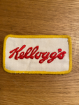 Vintage Kellogg's sewn on patch
