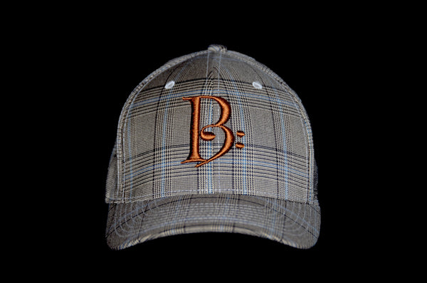 Brown Plaid Fitted