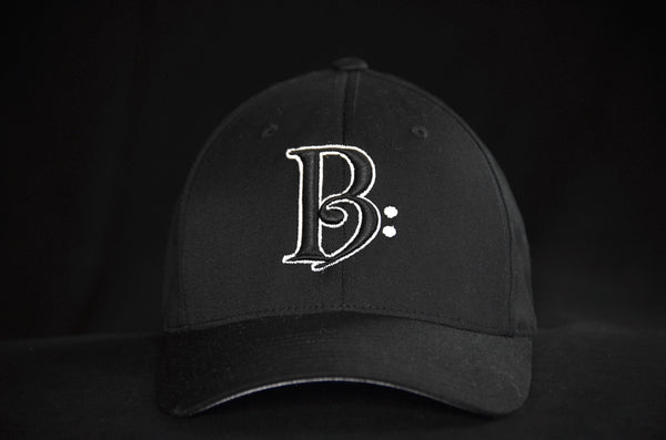 Black and White on Black Fitted