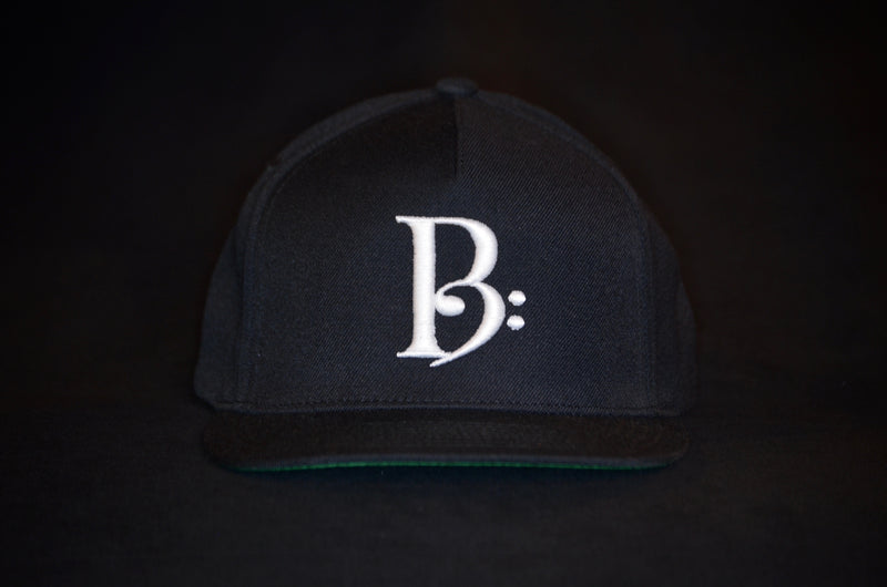 products/WhiteonBlackSnapBackFront.jpg