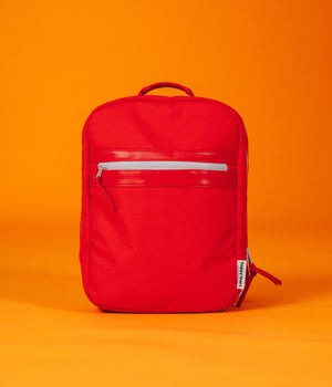 hello happy! daypack : love red