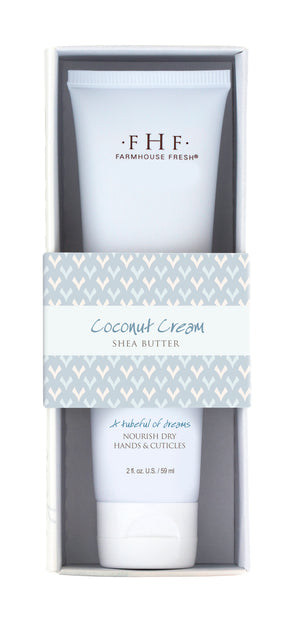 Coconut Cream Shea Butter Hand Cream