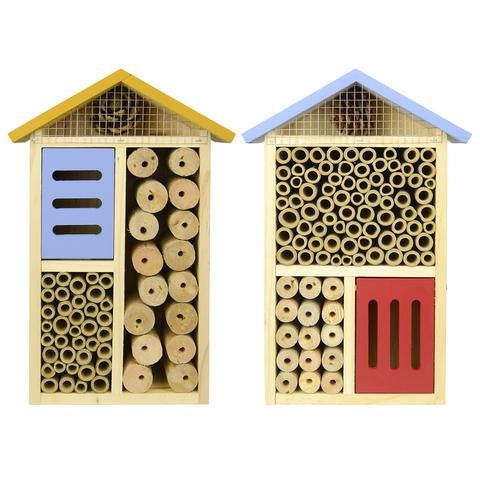 Blue - Multi Chamber Beneficial Insect House