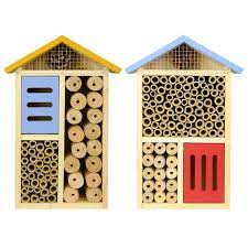Yellow - Multi Chamber Beneficial Insect House