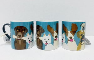 Happy Dog Fine China Mug