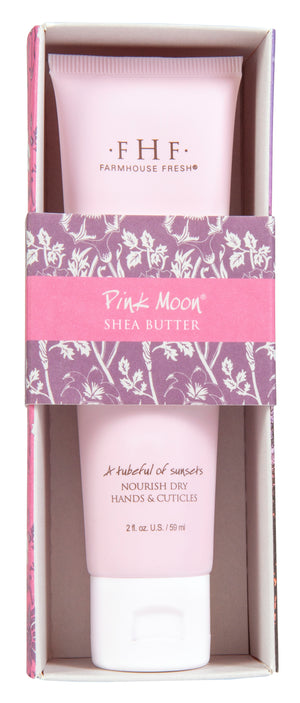 Pink Moon Shea Butter Hand Cream Tube