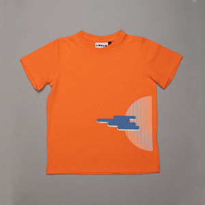Silver Lining T-shirt Tangerine