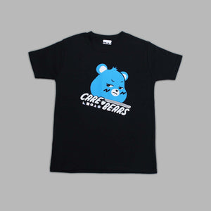 Kids  Grumpy Bear Black T-shirt