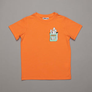 Chalk Friends T-shirt Tangerine