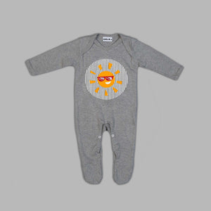 Baby Funshine Bear Grey Jumpsuit