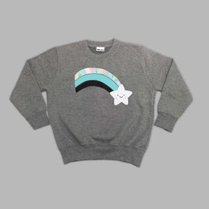 Kids Wish Bear Grey Sweatshirt