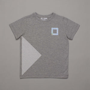 Play Stop T-shirt Grey