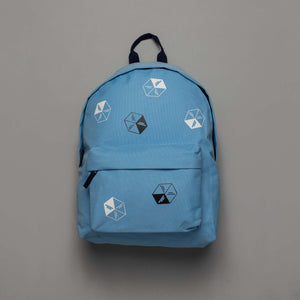 Polka Ice  Rucksack Powder Blue