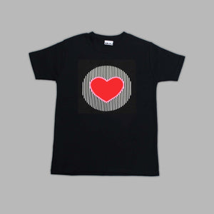 Adults Tenderheart Bear Black T-shirt