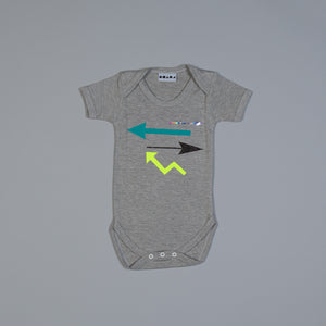 Get In Line Arrows Babygrow