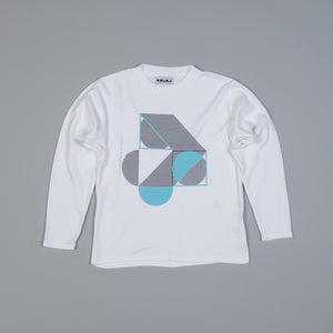 Block Illusions Long Sleeved T-shirt