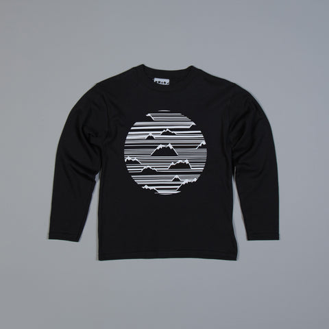 Mountain Illusion Long Sleeved T-shirt