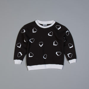 Polka Heart Sweater