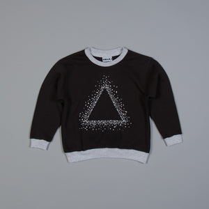 Triangle Snow Fade Sweater