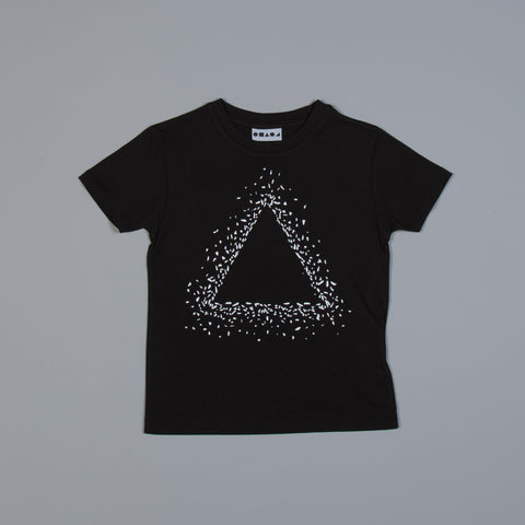 Triangle Snow Fade T-shirt