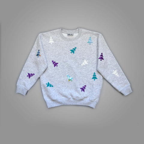 Polka Tree Christmas Sweatshirt