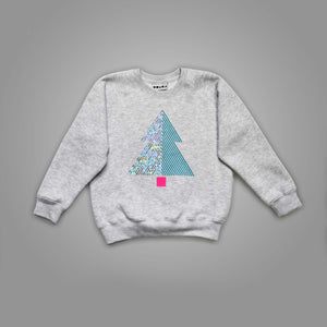 Tree Illusion Christmas Sweatshirt
