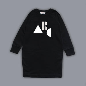 Sweatshirt ABC Dress Black