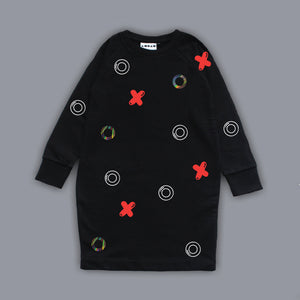 Sweatshirt Noughts & Crosses Dress Black