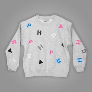 Polka Alphabet Sweater