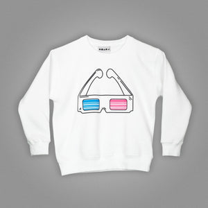 3D Glasses Sweater