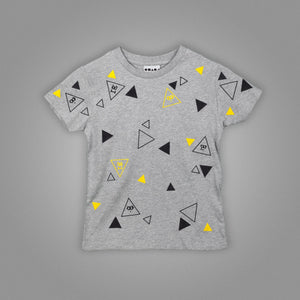 Polka Animated Triangle Kids T-Shirt