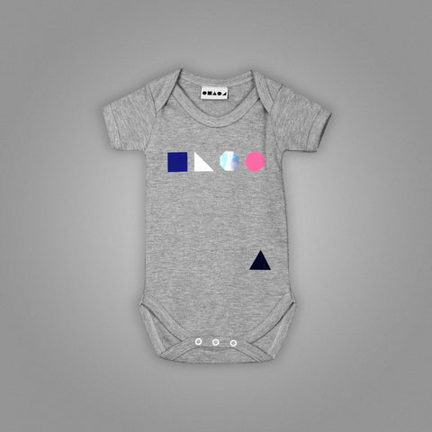Logo Shapes Babygrow