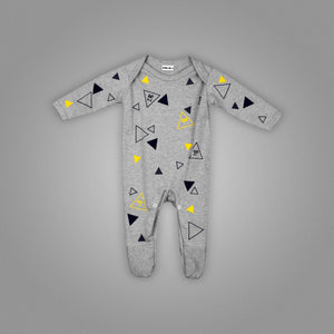 Polka Animated Triangles Jumpsuit