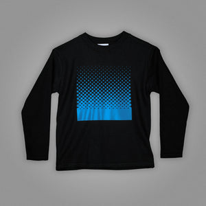 Square Dot Illusion Long Sleeve T-Shirt