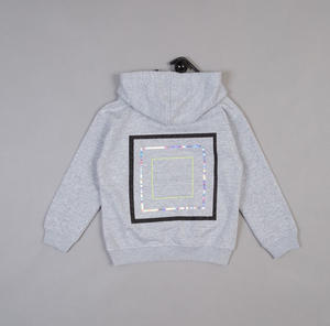 Optical Square Hoody