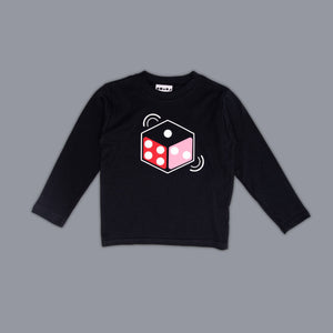 Dice Long Sleeved T-Shirt Black
