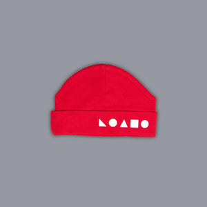 Logo Shapes Hat Red