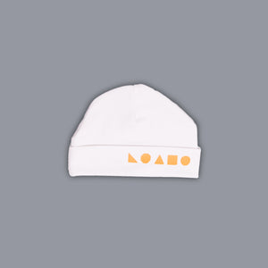 Logo Shapes Hat White