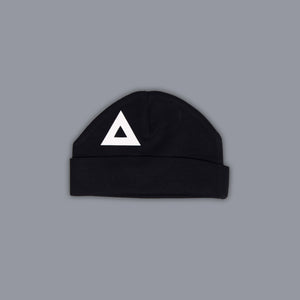 Triangle Illusion Hat Black