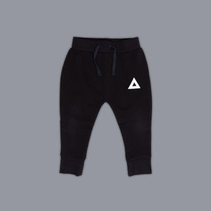 Triangle Illusion Jogger Black