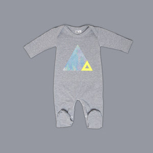 Triangle Illusion Footsay Grey