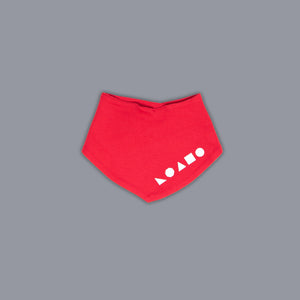Logo Shapes Bandana Red