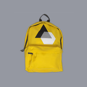 Monochrome Illusion Rucksack Yellow