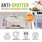 Anti-Sputter Magnetic Microwave Cover
