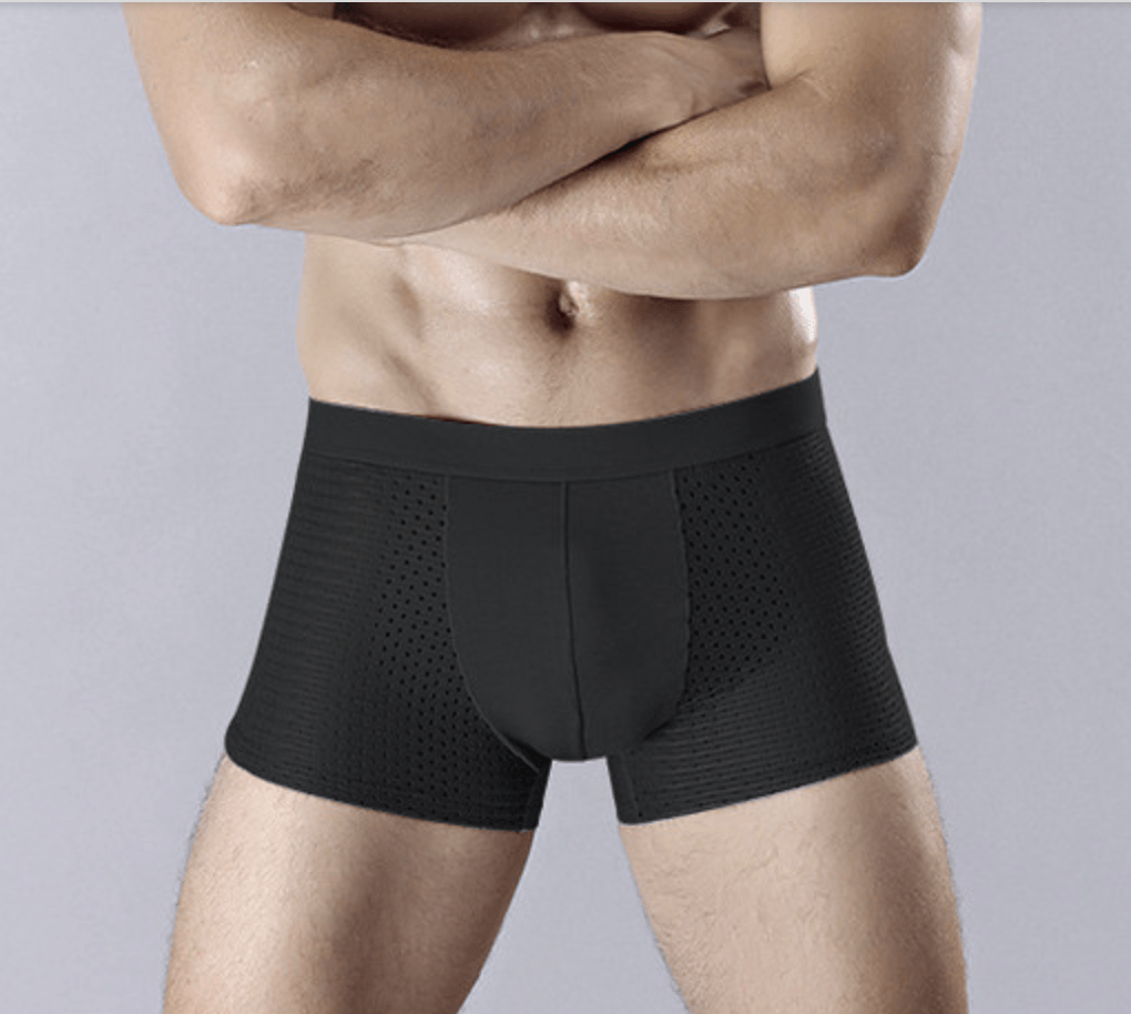 Ice Silk Breathable Boxers(Set of 3)