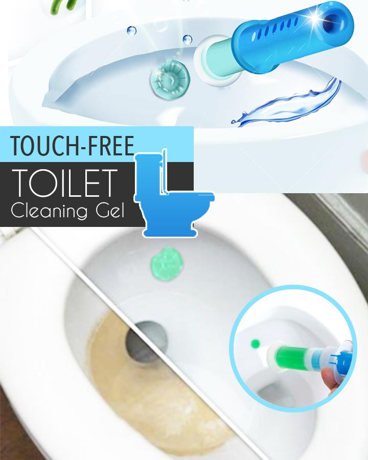 Touch-Free Toilet Cleaning Gel