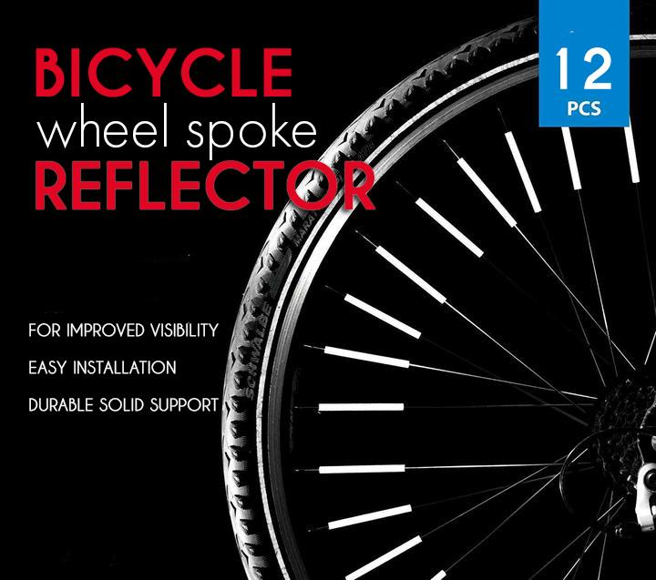 Bicycle Wheel Spoke Reflector (12PCS)