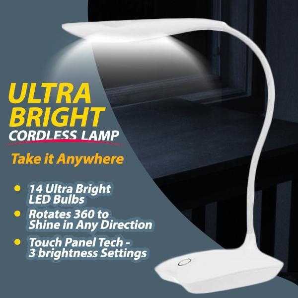 Ultra-Bright Cordless LED Lamp